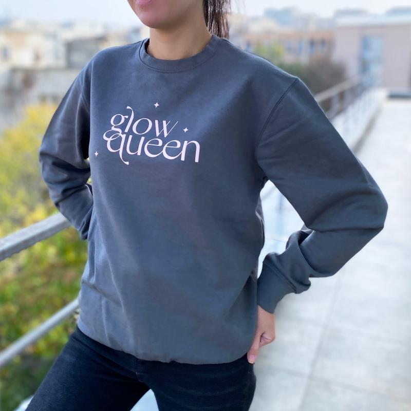 Hanorac / Sweatshirt Glow Queen